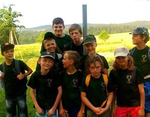 Velkopavlovičtí účastníci XXV. Letní expedice Vlků
