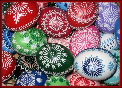 Senické velikonoční kraslice - Foto © 2007  Karolína Bártová